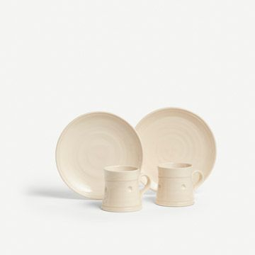 Cream Georgiana Tea Set for Two