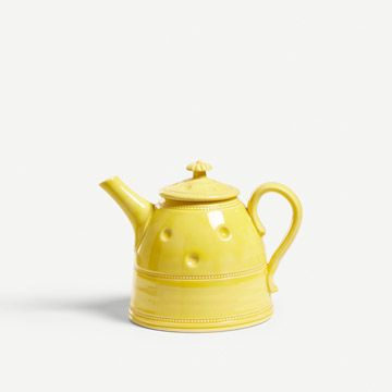 Citrus Yellow Georgiana Teapot III