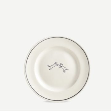 Fighting Dog Plate by Laura Carlin & John Julian Design
