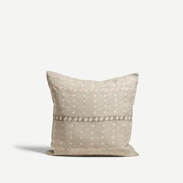 Hail & Laugh Square Cushion by Louisa Loakes