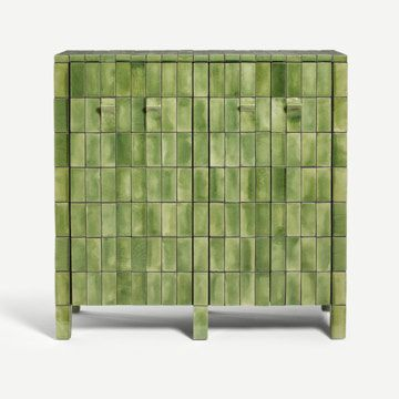 Welcome Cabinet in Bottle Green