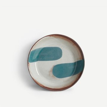 Terracotta Large Bowl (Teal) by The New Craftsmen