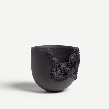 Black Porcelain Bowl by Olivia Walker