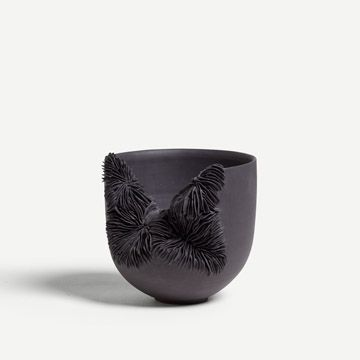 Black Porcelain Bowl