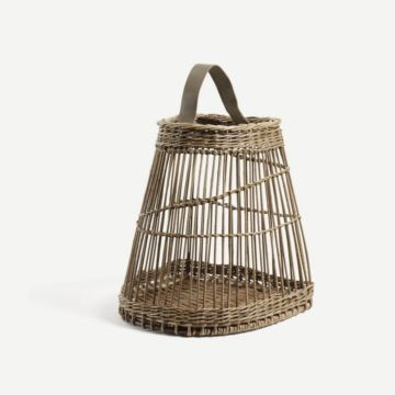 Fitched Half Bell Basket by Annemarie O'Sullivan