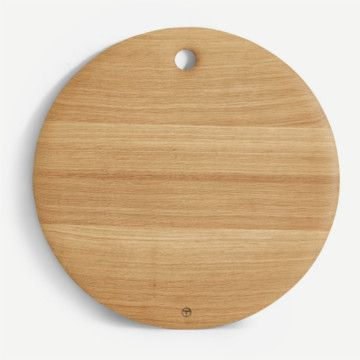 British Oak Round Table Board
