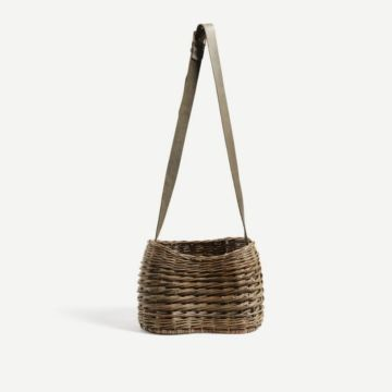 Willow Seedlip Basket by Annemarie O'Sullivan