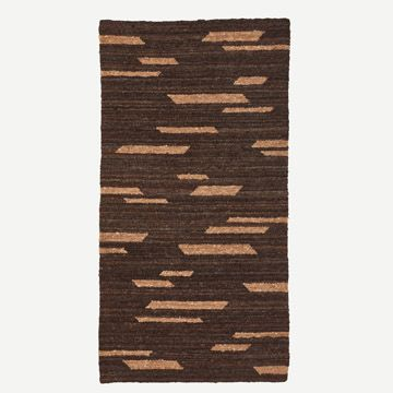 Rectangles Wool Rug