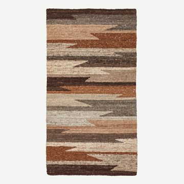 Angles Wool Rug (Light)