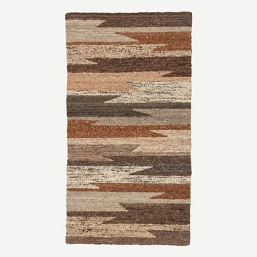 Angles Wool Rug (Dark)