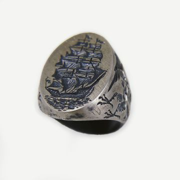 The Sirens Ship Ring