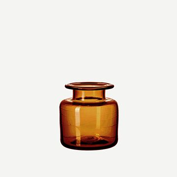 Chelsea Jar in Saddle (Small) by Michael Ruh