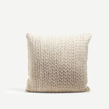 Square Braeriach Wool Cushion