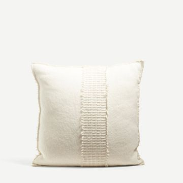 Square Cairngorm Wool Cushion