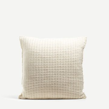 Square Cairn Gorm Wool Cushion by The Good Shepherd