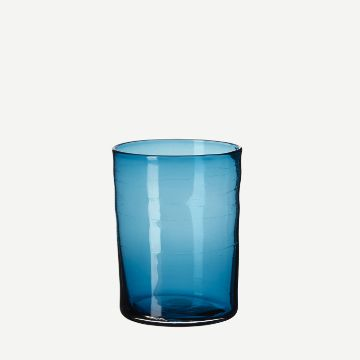 Hand-Blown Juice Glass (Single) (Sea Green) by Michael Ruh