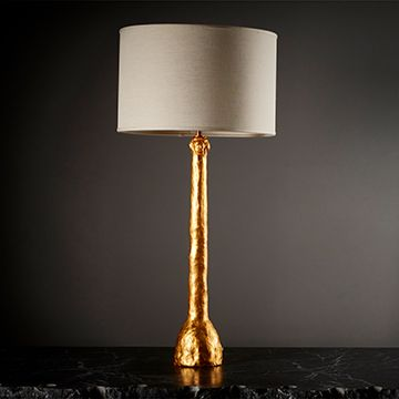 Figurative Stem Table Lamp (Gold)