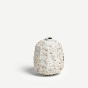 Small Faceted Poppy Seed Vase by Akiko Hirai
