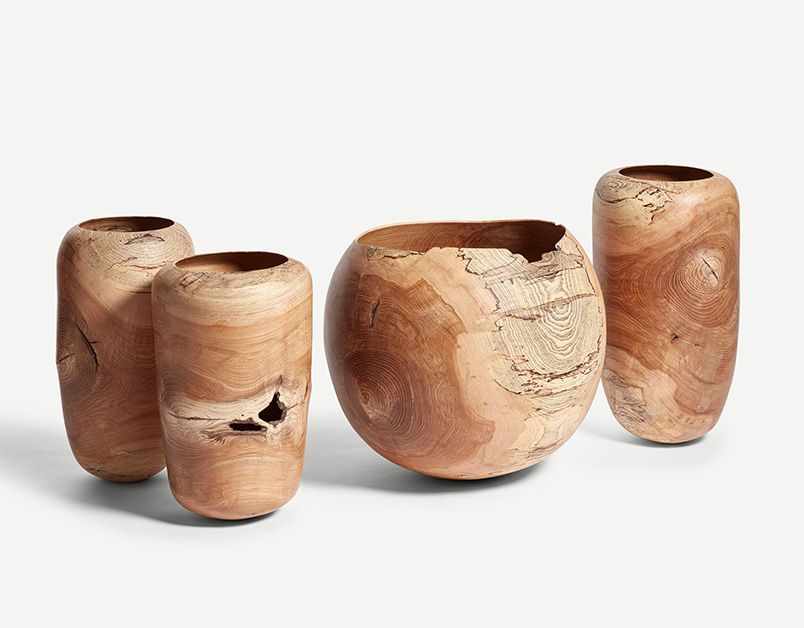 Tall Spalted Ash Vessel II