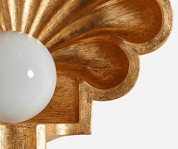 Shell Sconce Light