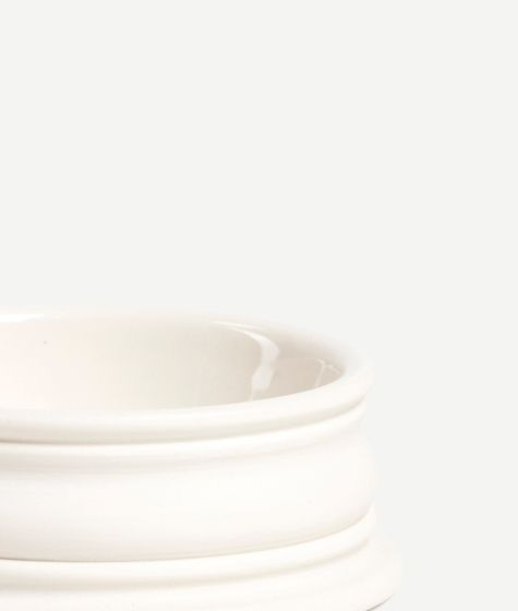 Classical Porcelain Pinch Pot (Small)