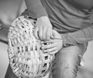 Large Swill Basket by The New Craftsmen
