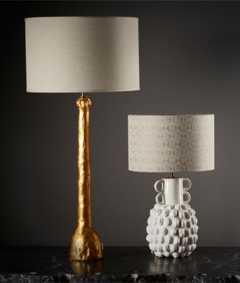 Figurative Stem Table Lamp (Gold) (Base Only) by The New Craftsmen