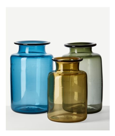 Chelsea Jar Large (Sea Green) by The New Craftsmen