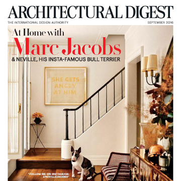 Architectural Digest: The Larger Than Life Set From Burberry