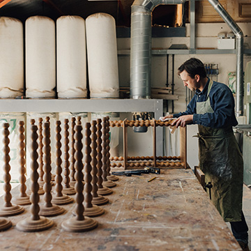 The New Craftsmen x Inigo: Inside the Sussex studio of Alfred Newall
