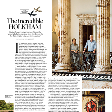 How To Spend It: The New Craftsmen at Holkham Hall