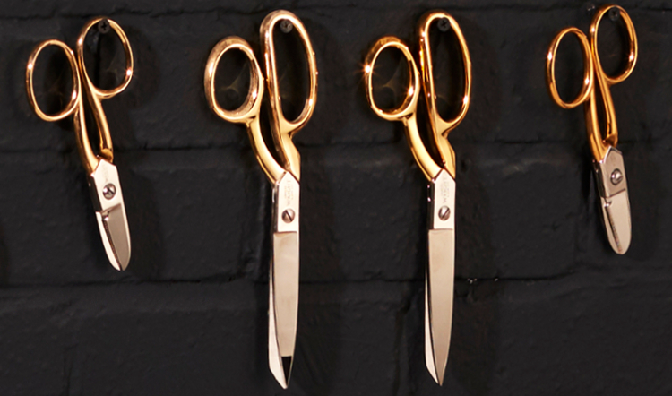Ernest Wright & Son crafted their scissors from world-renowned Sheffield steel