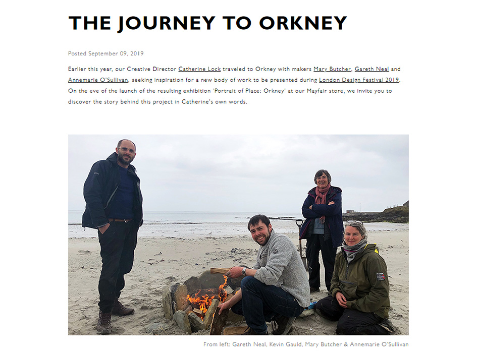 Story, The Journey To Orkney