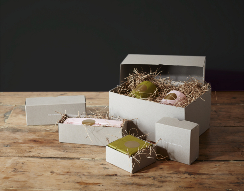 The New Craftsmen Gift Boxes opened
