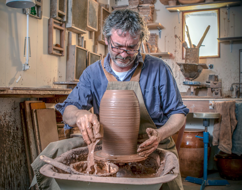Fitch & McAndrew, Ceramics Process- The New Craftsmen