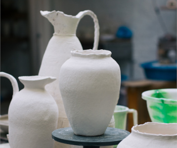 Abigail Schama, Ceramicist The New Craftsmen