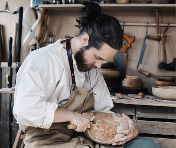 Alexander de Vol Wood Process - The New Craftsmen