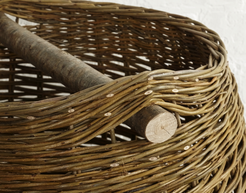 Annemarie-Osullivan, Willow Kindling basket detail- The New Craftsmen 3