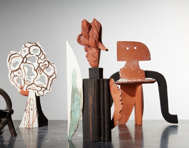 Aude Van Ryn, Terracotta Sculptures-The New Craftsmen