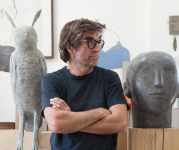Christopher Marvell, Sculptor process-The New Craftsmen