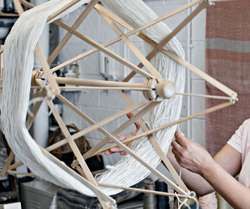 Catarina Riccabona Weaving Process - The New Craftsmen