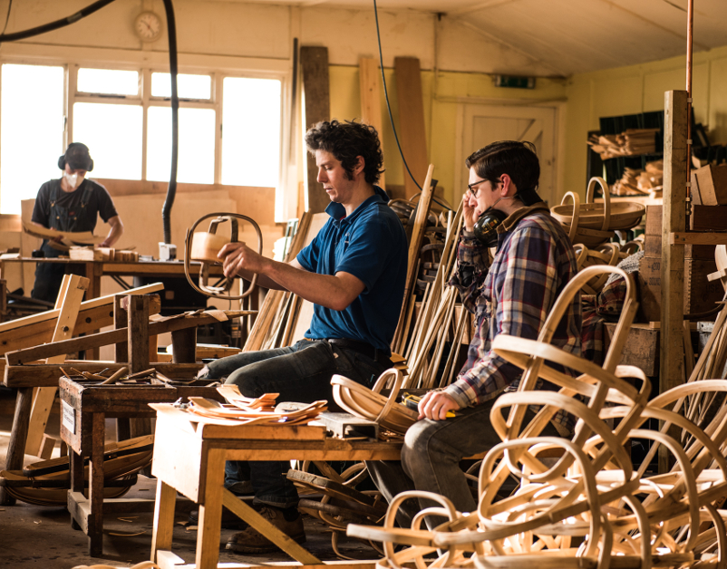 Cuckmere Trug Company Basket Making Process - The New Craftsmen