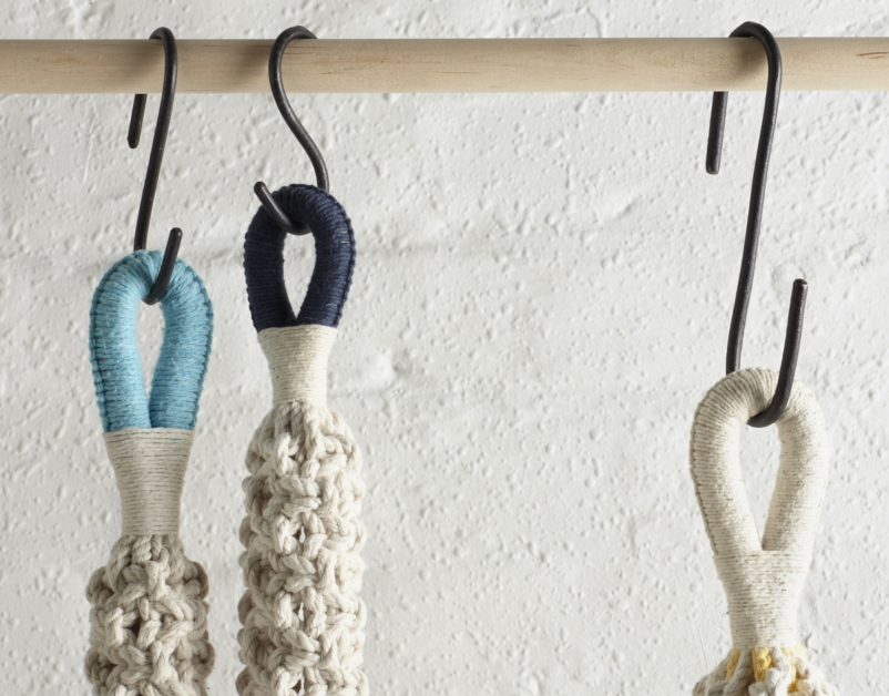 Gina Marris- Macrame Weaver, The New Craftsmen