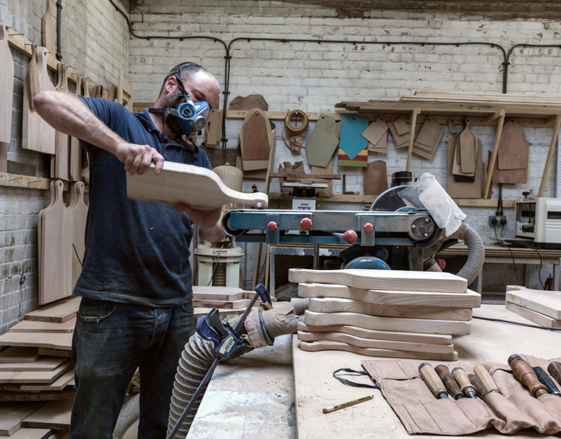 Hampson Woods, Making Process, The New Craftsmen
