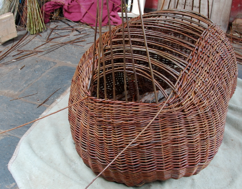 Joe Hogan, Basket Weaving Detail, The New Craftsmen