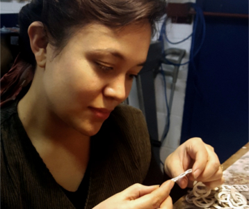 Lucie Gledhill, Jewellery Maker, The New Craftsmen