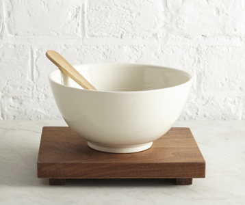 Matthew Warner, Thrown Bowl and Spoon, The New Craftsmen