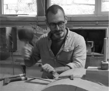 Oliver Helfrich, Making Process, The New Craftsmen