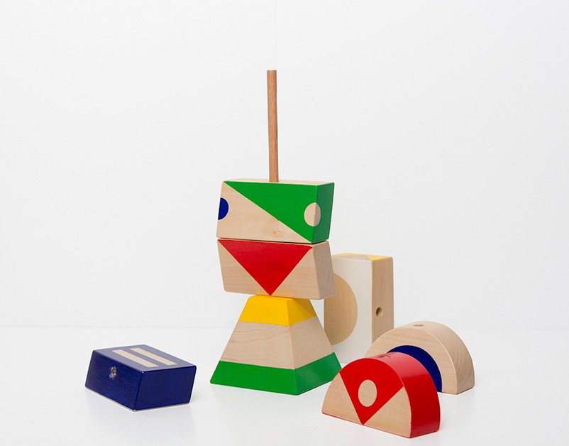 Oliver Helfrich, Toy Stacked, The New Craftsmen