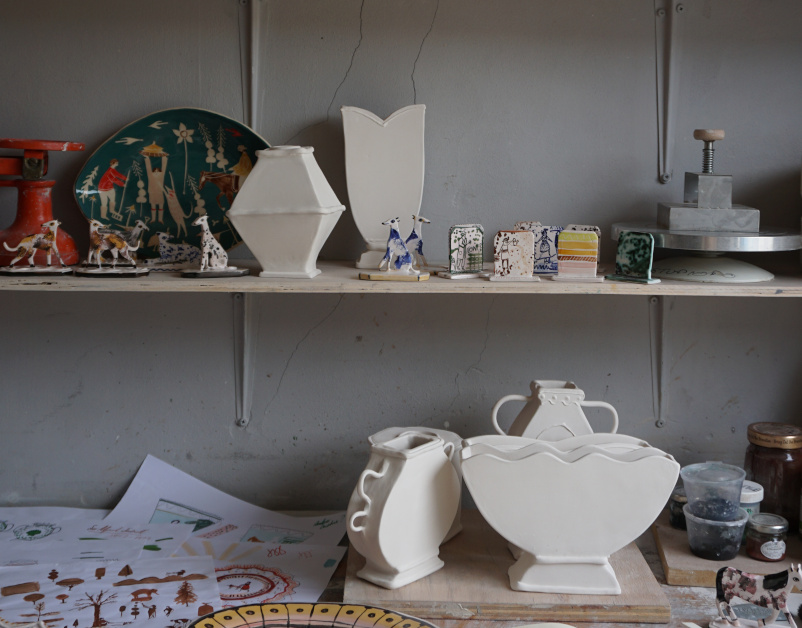 Polly Fern, Ceramicist- The New Craftsmen